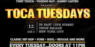 Toca Tuesdays - Biggie Birthday Celebration w/Lord Finnesse, Easy Mo Bee & Tony Touch