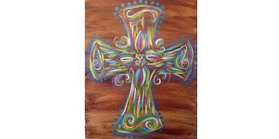 Colorful Cross | $25