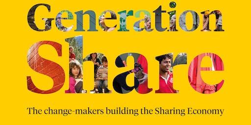 Generation Share Book Launch Amsterdam with Benita Matofska & Sophie Sheinwald