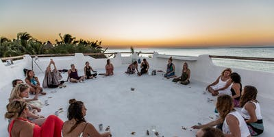 Lotus House of Yoga Beach Retreat 2020 Feb 14th at Las Nubes, Holbox Mexico