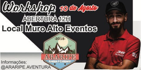 Workshop Vivências Julio Lobo por Araripe Aventura ingressos