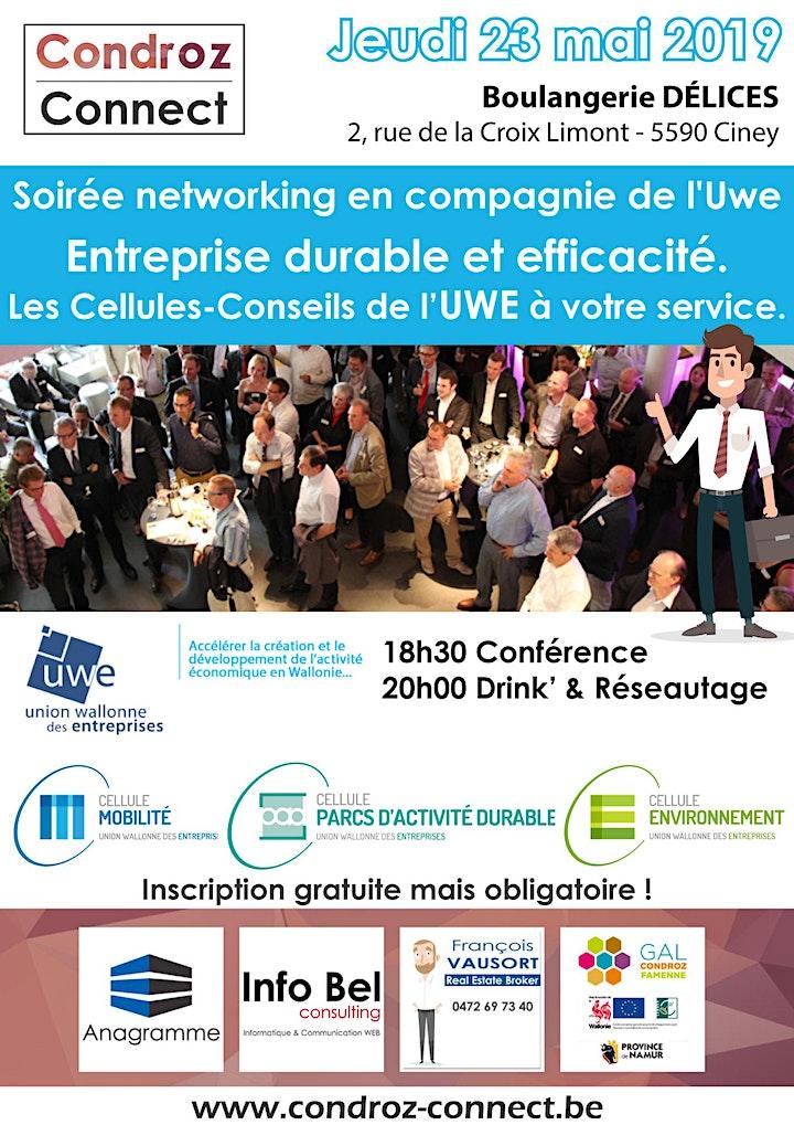 Image pour Entreprise durable et efficacité. + Soirée Networking !