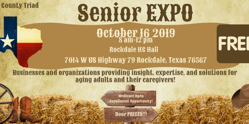 Milam County Senior Expo 2019