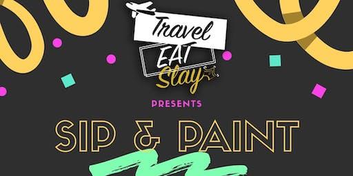 Sip 'N' Paint by TravelEatSlay