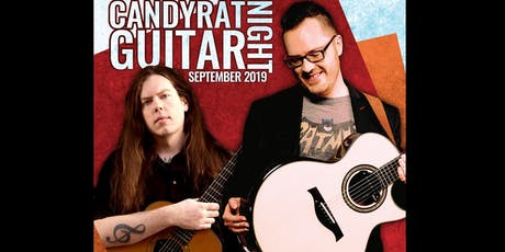 Candyrat Guitar Night ft. Antoine Dufour & Adrian Bellue tickets