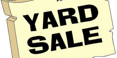 July 4th Yard Sale