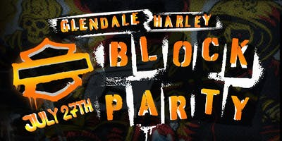 Glendale Harley Block Party