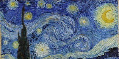 Starry, Starry Night Painting