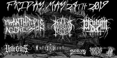 MISANTHROPIC AGGRESSION w/ NOVGOROD, OCULUM DEI, VALLE CRUCIS & INTERNMENT