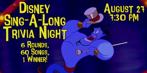 Disney Sing-A-Long Trivia Night!