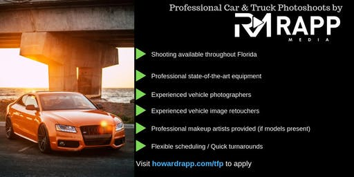 Use Your Car for Professional Photoshoots