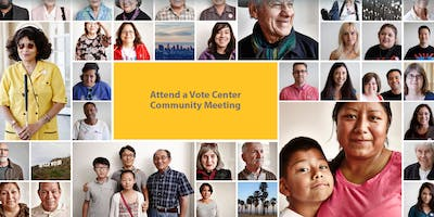 Voting Solutions For All People | Community Meeting