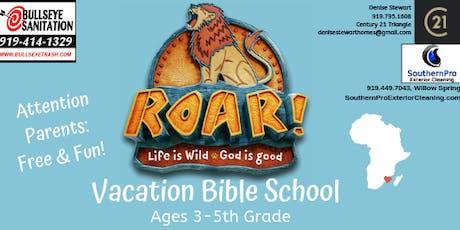 """Roar"" VBS Camp tickets"