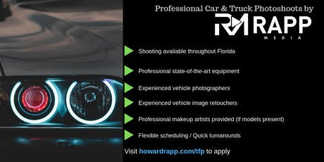 Use Your Car for Professional Photoshoots tickets