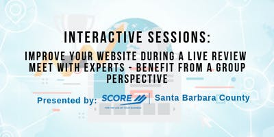 Improve Your Website During a Live Review and Meet with Experts