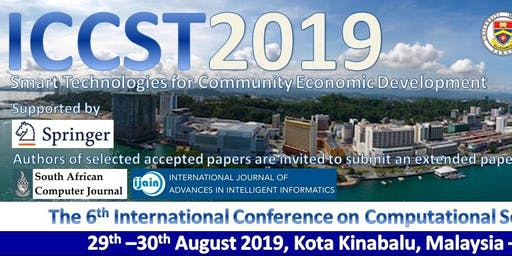 Sixth International Conference on Computational Science and Technology 2019