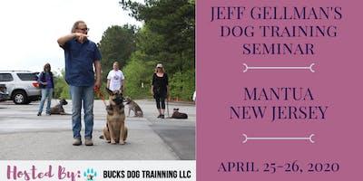 Mantua, NJ - Jeff Gellman's 2 Day Dog Training Seminar