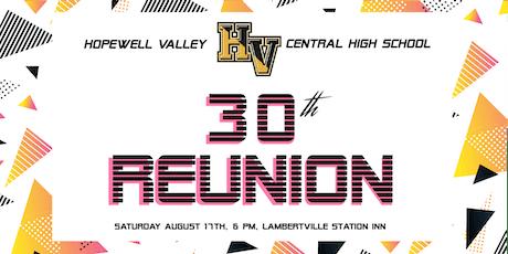 Hopewell Valley Class of 1989 Reunion tickets