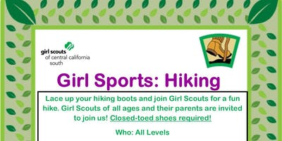 Girl Sports: Hiking - Tulare County