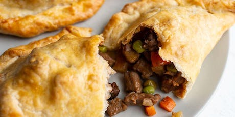 Pasties with Beef or Curried Jackfruit Fillings tickets