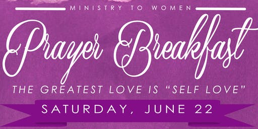 Bethel's Ministry to Women Annual Prayer Breakfast