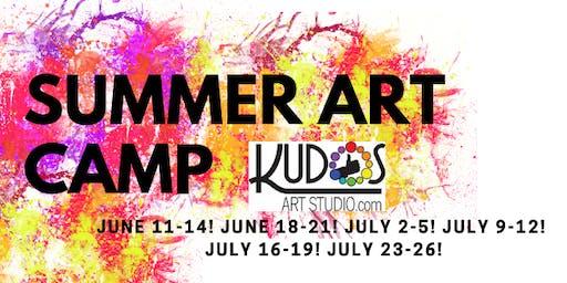 Summer Art Camp | July 23 - 26