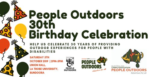 People Outdoors 30th Birthday Celebration