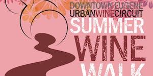 Eugene Downtown Summer Wine Walk 2019