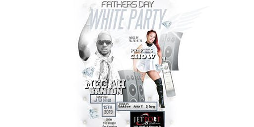Fathers Day All White with Megah Banton & Princess Chow