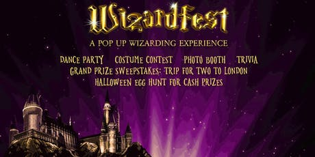 Wizardfest-A 'Harry Potter' themed Pop-Up Party tickets