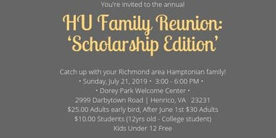 HU Family Reunion - Scholarship Edition!