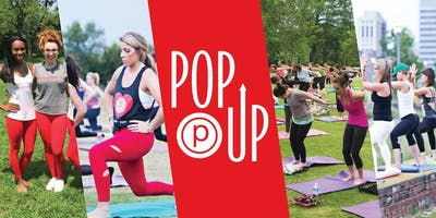 Pure Barre Pop Up at Little Woodrow's
