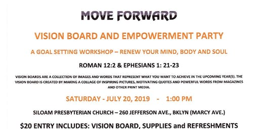 MOVE FORWARD: VISION BOARD AND EMPOWERMENT PARTY