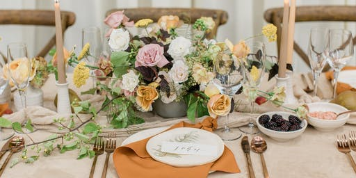 Tablescape Styling Workshop