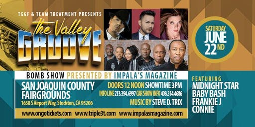 The Valley Groove Featuring Midnight Star Baby Bash Frankie J and Connie
