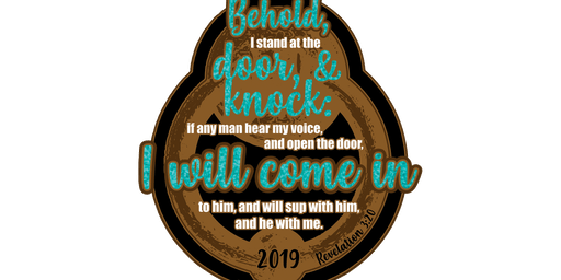 2019 I Stand at the Door and Knock 1 Mile, 5K, 10K, 13.1, 26.2 -Tulsa