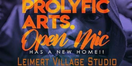 Prolyfic Arts Open Mic tickets