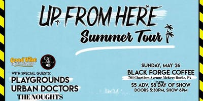 Up From Here Summer Tour @ Black Forge Coffee 2
