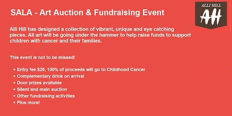SALA Art Auction and Fundraising Event for Childhood Cancer tickets
