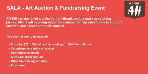 SALA Art Auction and Fundraising Event for Childhood Cancer