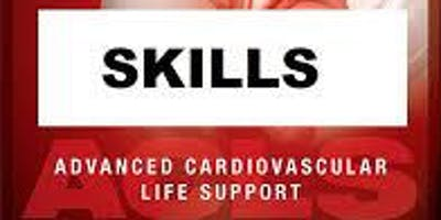 AHA ACLS Skills Session February 15. 2020 from 1 PM to 3 PM at Saving American Hearts, Inc. 6165 Lehman Drive Suite 202 Colorado Springs, Colorado 80918.