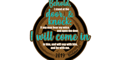 2019 I Stand at the Door and Knock 1 Mile, 5K, 10K, 13.1, 26.2 -Green Bay