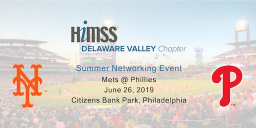 DVHIMSS Summer Networking Event @ the Phillies!