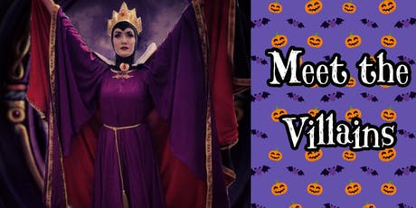 Meet the Villains tickets