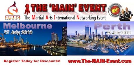 2019 The-MAIN-Event.com Melbourne Australia tickets