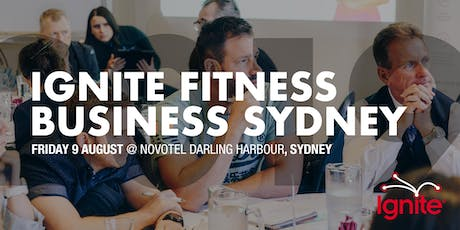 Ignite Fitness Business Sydney 2019 tickets