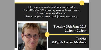 Rachel Perkins Lived Experience Day