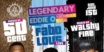 6/1 FABOLOUS , 50 Cent , WALSHY FIRE OF MAJOR LAZOR  @ STEREO GARDEN EDDIE-O BIR