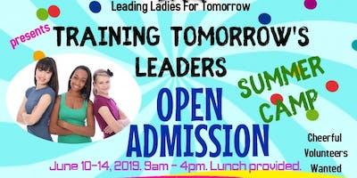 Training Tomorrow's Leaders: Summer Camp