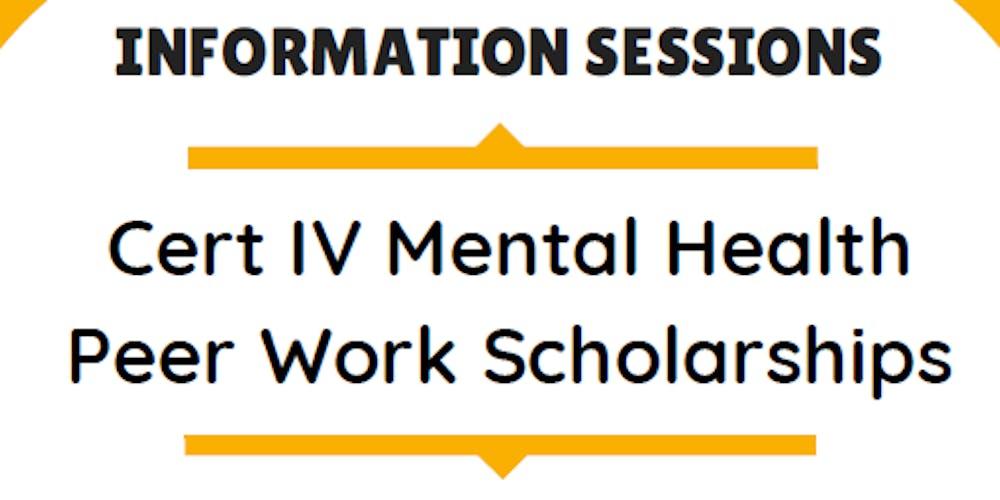 Cert Iv Mental Health R Work Information Night